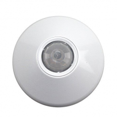 Wired ceiling infrared and microwave detector