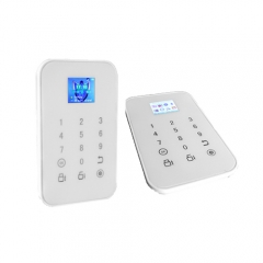 Touch panel GSM Intelligent Alarm System